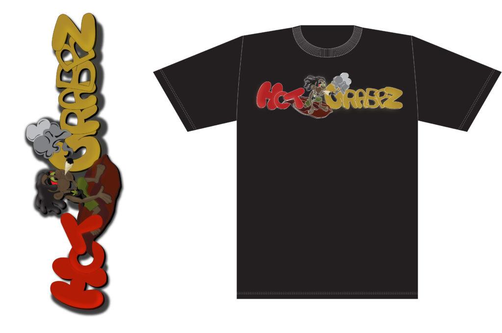 Hotgrabbz t-shirt(b)